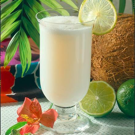 Kokos-Ananas-Drink Rezept