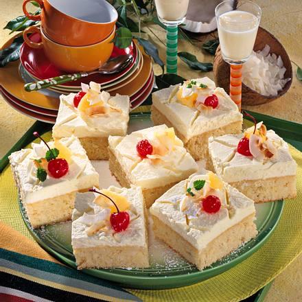 Kokos-Ananas-Kuchen Rezept