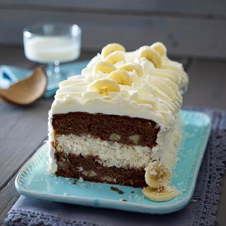 Kokos-Bananen-Kuchen Rezept