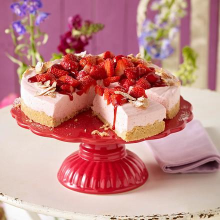 Kokos-Erdbeer-Torte Rezept