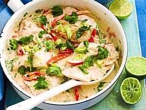Kokos-Limetten-Fisch Rezept