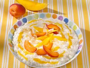Kokos-Milchreis mit Mango Rezept