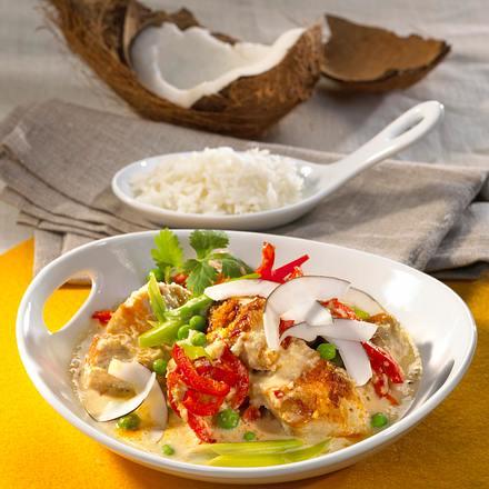 Kokos-Puten-Curry Rezept