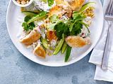 Kokos-Reis-Salat mit Hähnchen Rezept