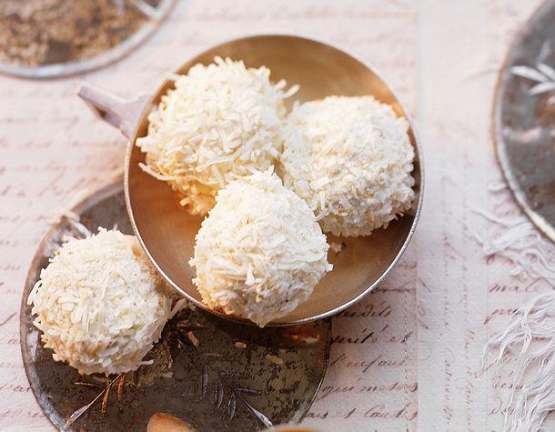 Kokos-Schneebällchen Rezept