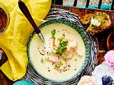 Kokos-Shrimps-Suppe Rezept
