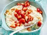 Kokosmilchreis mit marinierten Erdbeeren Rezept