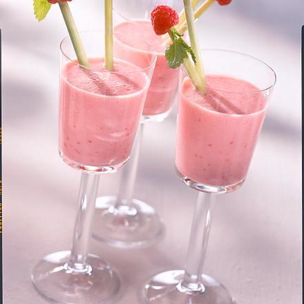 Kombucha-Himbeer-Shake Rezept