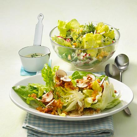 Kopfsalat-Duo Rezept