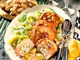 Koteletts mit Erdnuss-Ricotta-Füllung Rezept