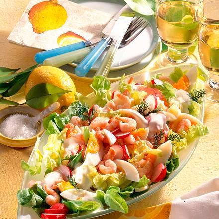 Krabben-Ei-Salat Rezept