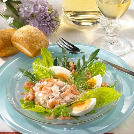 Krabbencocktail mit Eiern Rezept