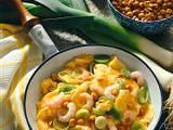 Krabbenrührei mit Erdnüssen Rezept