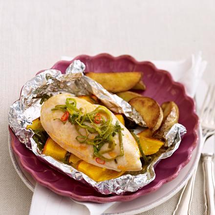 Kräuter-Hähnchen aus dem Ofen Rezept