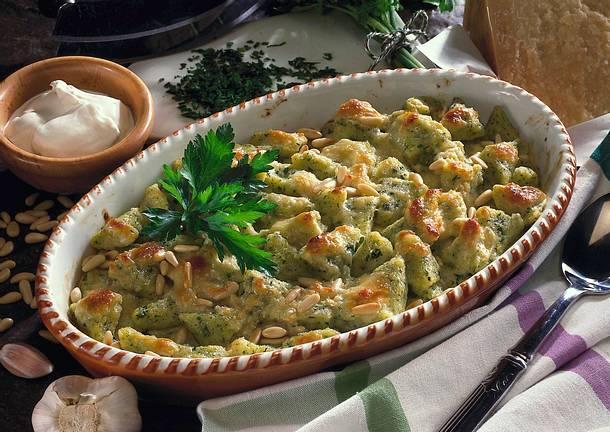 Kräuter-Käse-Gnocchi Rezept