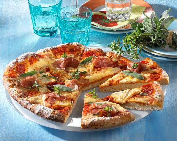 Kräuter-Käsepizza Rezept