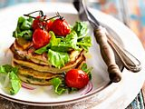 Kräuter-Pancakes ohne Mehl Rezept