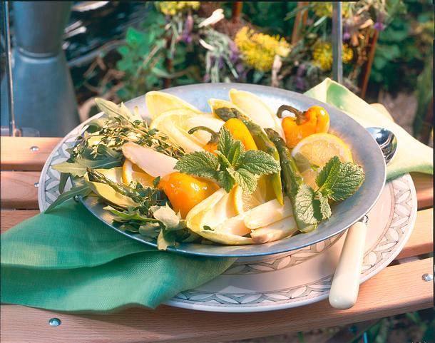 Kräuter-Salat Rezept