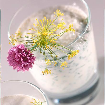 Kräuterdrink mit Gurke Rezept