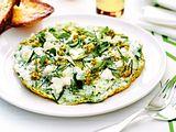 Kräuteromelett mit Olivenpesto Rezept