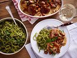 Kräuterspätzle zu Schweinefiletmedaillons Rezept