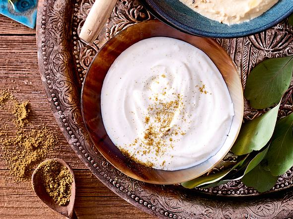 Kreuzkümmeliger Joghurt Rezept