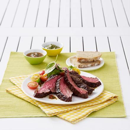 Kronfleisch-Steak mit Chimichurri Rezept