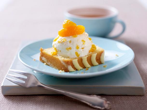 Kuchen-Diät: Zitronenkuchen mit Mandarinen-Quark Rezept
