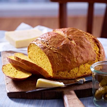 Kürbis-Fenchel-Brot Rezept