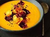 Kürbis-Gelbe-Bete-Suppe Rezept