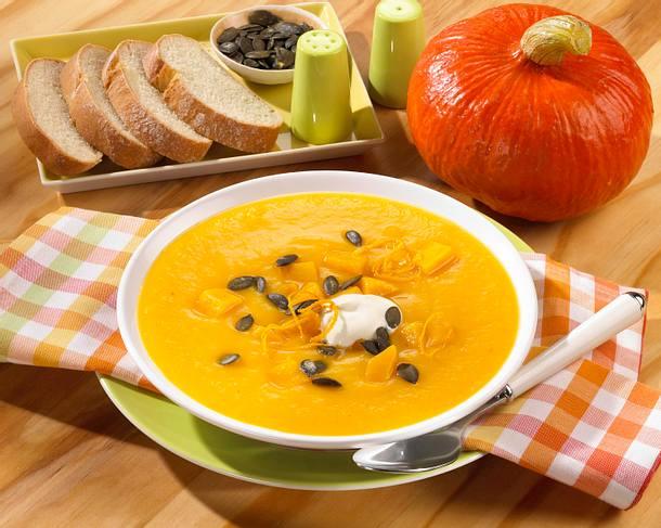 Kürbis-Orangen-Suppe Rezept