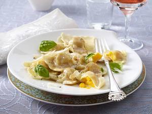 Kürbisravioli mit brauner Butter Rezept