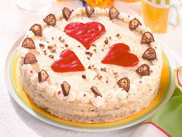 Küßchen-Torte für Freunde Rezept