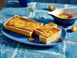 Kumquat-Mandelcreme-Tarte Rezept