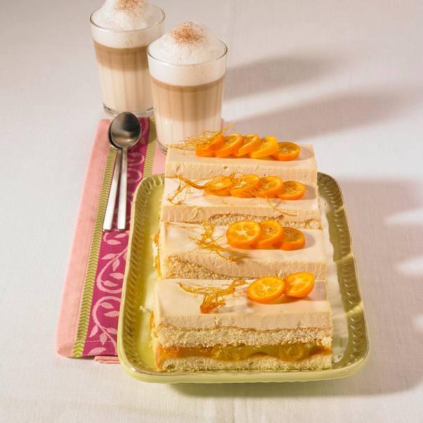 Kumquats-Karamell-Schnitten Rezept