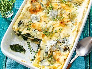 La-La-La-lasagne mit Spinat und Mangold Rezept