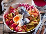 Labskaus-Salat mit Rollmops Rezept