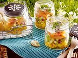 Lachs-Avocado-Schichtsalat Rezept