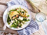 Lachs im Blätterteig (Sansibar) Rezept