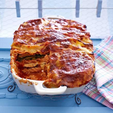 Lachs-Mangold-Lasagne Rezept