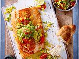 Lachs mit Mango-Salsa Rezept