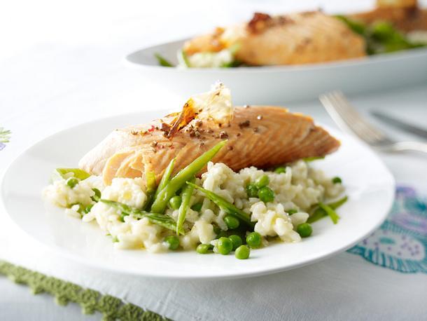 Lachs mit Meerrettich-Butter Rezept
