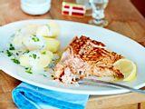 Lachs mit Petersilienkartoffeln Rezept