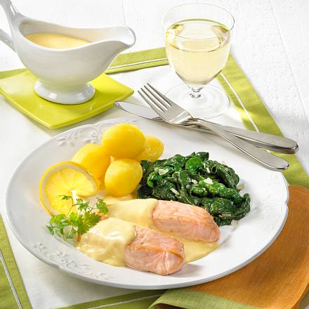 lachs mit sauce hollandaise rezept chefkoch rezepte auf kochen backen und. Black Bedroom Furniture Sets. Home Design Ideas