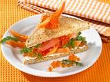 Lachs-Papaya Sandwich Rezept