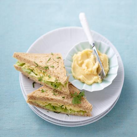Lachs-Sandwiches Rezept