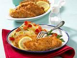 Lachsstäbchen mit Kartoffelpüree Rezept