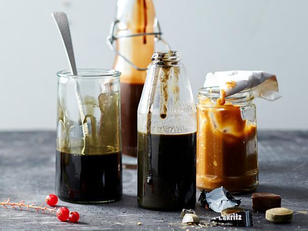 Die volle Lakritzsoßenladung Rezept