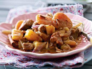 Lamm-Aprikosen-Curry Rezept