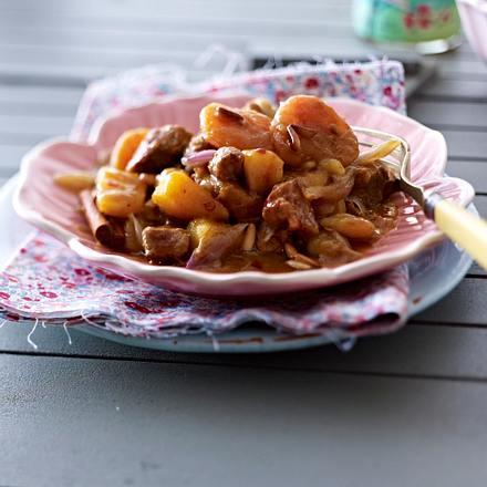 Lamm-Aprikosen-Curry mit Kartoffeln Rezept